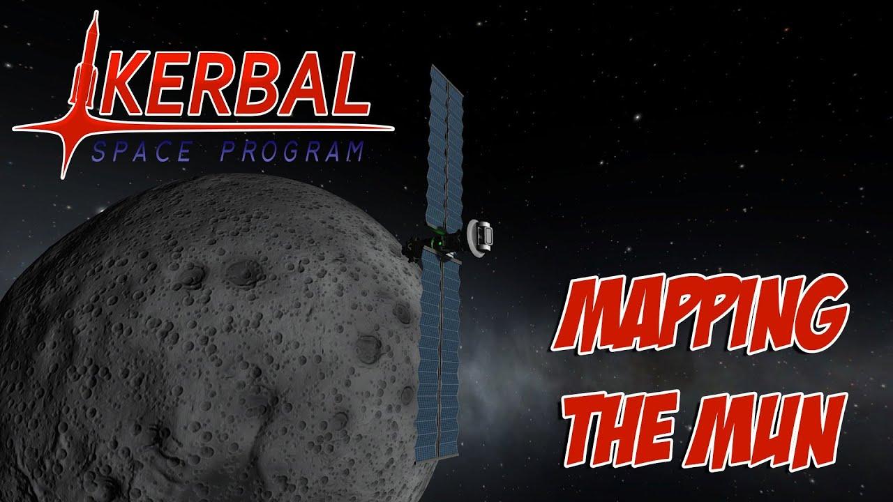 Kerbal Space Program - Mapping The Mun