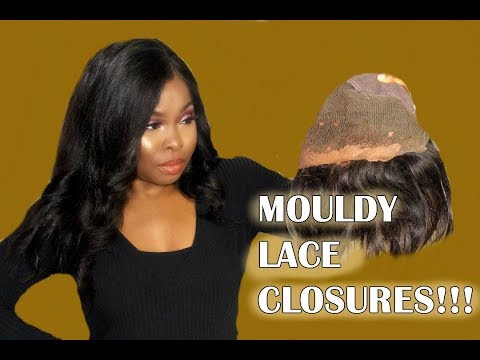 HOW TO WASH GLUE OFF LACE CLOSURES & FRONTALS