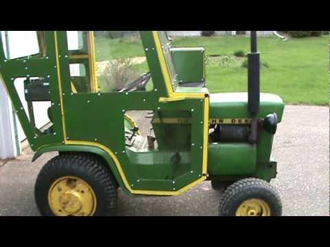 John Deere 110 Cab YouTube – Garden Tractor Cab Plans
