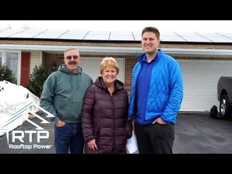 Rooftop Power Solar Review/Installation -Swansea,Ma
