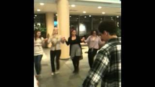 Turkish 101, class of Fall 2012, Folk Dance (Halay)