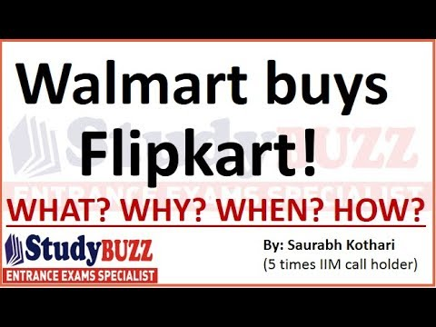 The biggest acquisition: Walmart buys 77% stake in Flipkart | Complete details & important facts