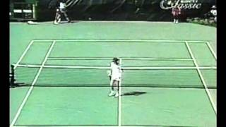 McEnroe vs Gerulaitis - USO 1981 Semifinal (highlights).