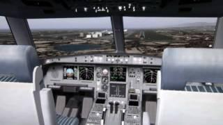 FS2004 EVA Airbus A330-200 Tokyo to Taipei