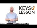 Look To The Son - Hillsong Worship // Keys Tutorial