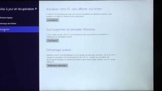 désactiver la vérification de la signature électronique des pilotes sous windows8.1