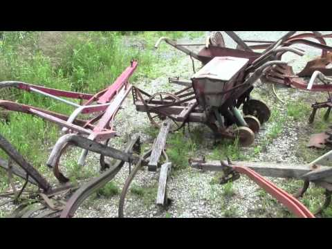 ANTIQUE FARM EQUIPMENT - Hand Plow Collection
