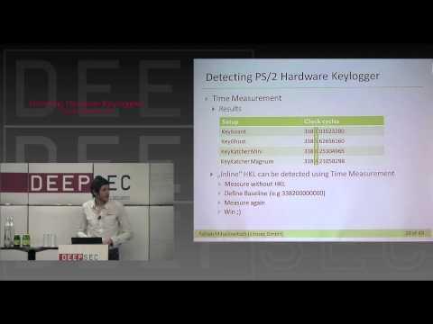 Detecting Hardware Keyloggers