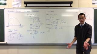 Projectile Motion: Simple Worked Example (3 of 4: Understanding the Point of Impact)