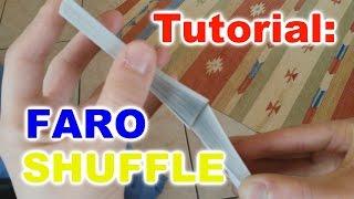 TUTORIAL :: Faro Shuffle | Come mescolare le carte in modo perfetto!