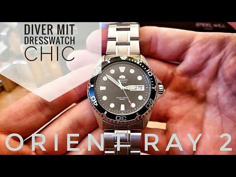 Orient Ray 2 (FEM65008B9) 'Dressiger' Automatik Diver, Sehr Viel Uhr Fürs Geld!