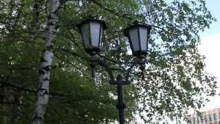 видео Парк имени Суворова в Кобрине