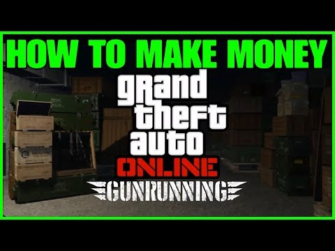 Generate ***GTA ONLINE GUNRUNNING DLC HOW TO MAKE MONEY*** Pictures