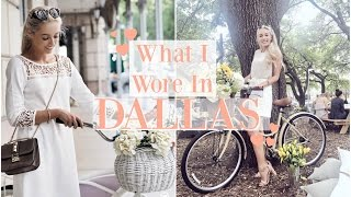 WHAT I WORE IN TEXAS   |    Dallas Outfit Diary   |    #rStheCon   |   Fashion Mumblr