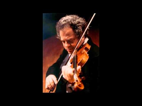 Brahms Violin Concerto in D major Op.77, Itzhak Perlman