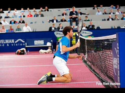Impressie interview Robin Haase   AFAS Tennis Classics 2015