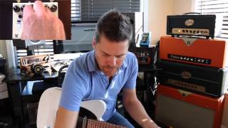 Truetone (Visual Sound) Route 66 American Overdrive Demo by Shawn Tubbs