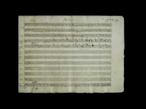 Mozart - Requiem K 626 with Manuscript (NOT on Period Instruments)