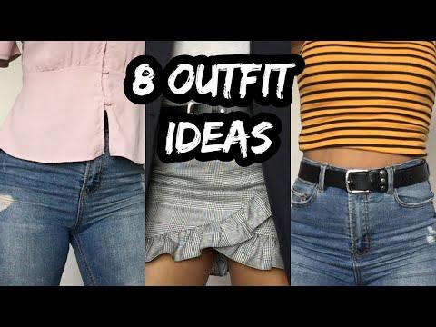 [VIDEO] - 8 BACK TO SCHOOL OUTFIT IDEAS * LOOKBOOK *   Luísa Trindade 1