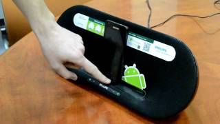 Обзор беспроводной док-станции Philips Fidelio для Android