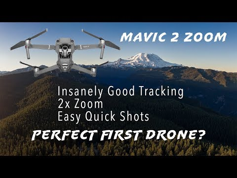 DJI Mavic 2 Zoom Review - Insanely Good Tracking Demo in this Hands-on Review