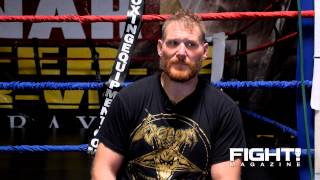 Josh Barnett on Signing with the UFC, Dana White & getting a Title Shot