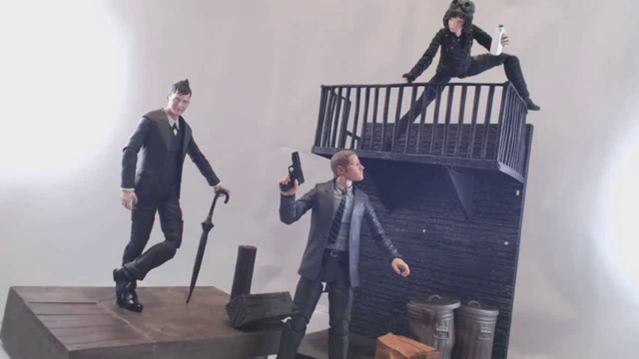 GOTHAM TV Series 1 Action Figure Selina//Oswald Cobblepot//