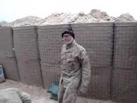 2/3 Echo Marines in Haditha, Iraq do some Martial Arts