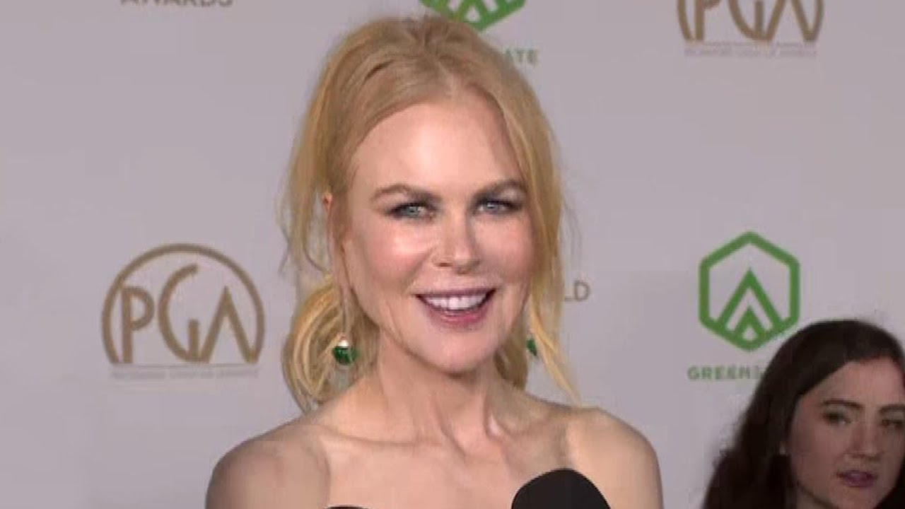 Nicole Kidman On 'Big Little Lies' Season 3 | PGA Awards 2020