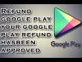 How to get free Refund for app/in-app purchase on Google 100% working 2018 ©
