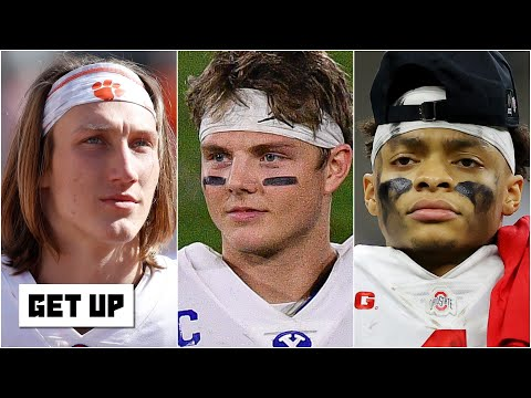 Ranking the Top 5 QB prospects in the 2021 NFL Draft | Get Up