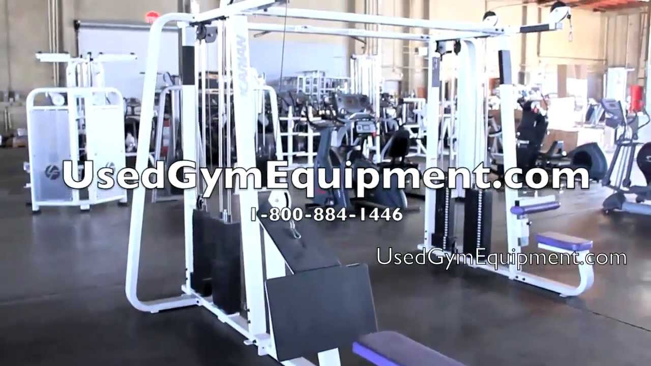 Used Precor Icarian 4 Stack Multi Gym For Sale Youtube