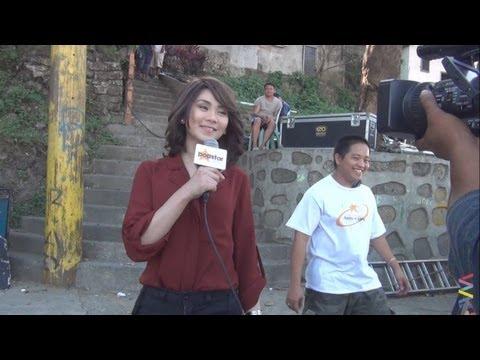 Sarah Geronimo movie shooting [behind-the-scenes]