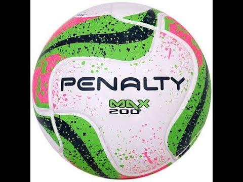 3297aebe86 Bola Futsal Penalty Max 200 7 Termotec CBFS - YouTube
