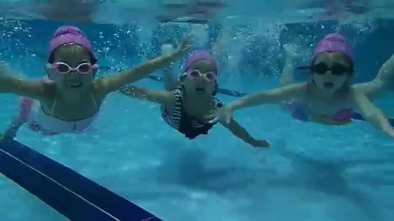 桃園學齡前幼兒游泳教學 指導教練:美女教練 - YouTube