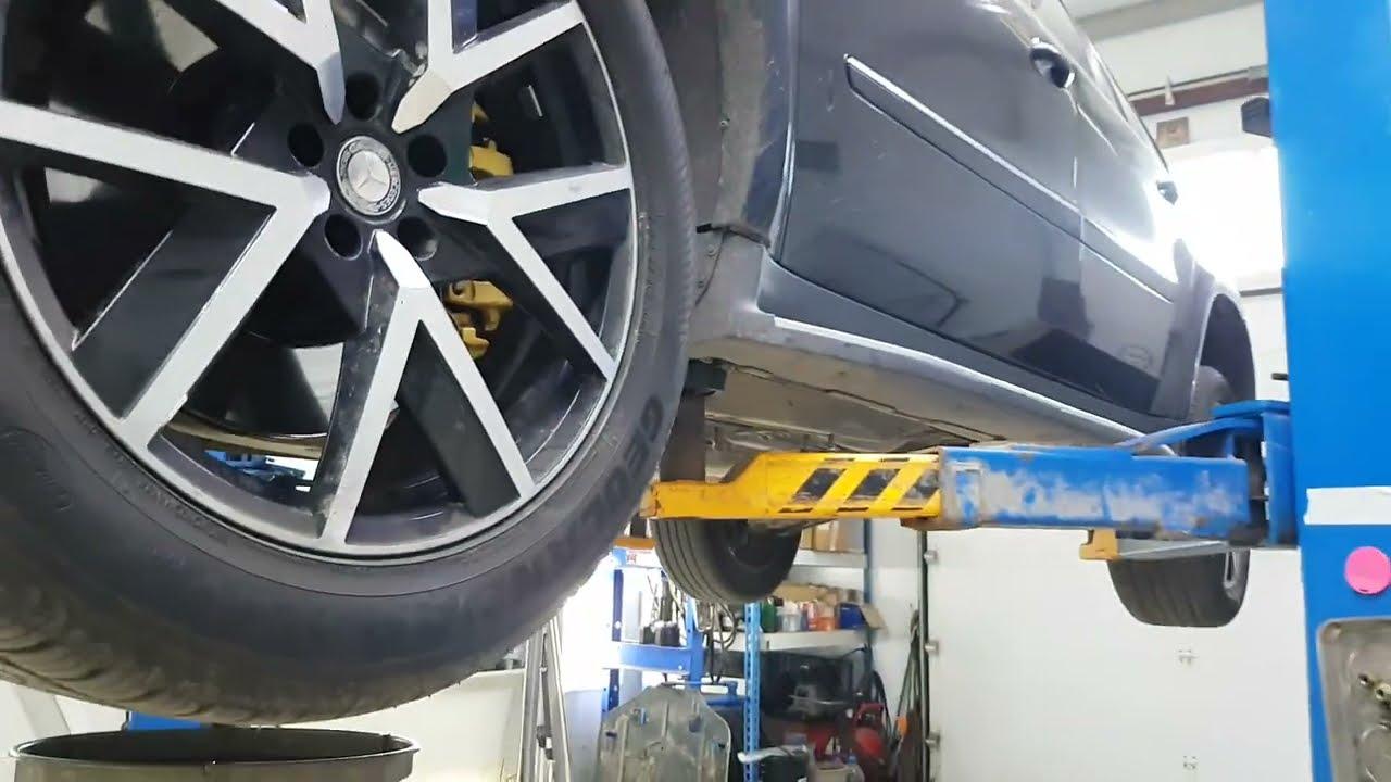 Mercedes GL500. Про грамотное обслуживание АКПП. Заметки. 18+