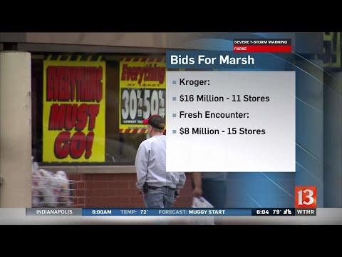 Marsh bidders identified