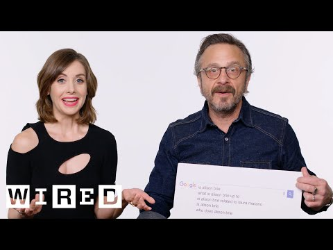 Alison Brie & Marc Maron Answer the Web's Most Searched Questions  WIRED