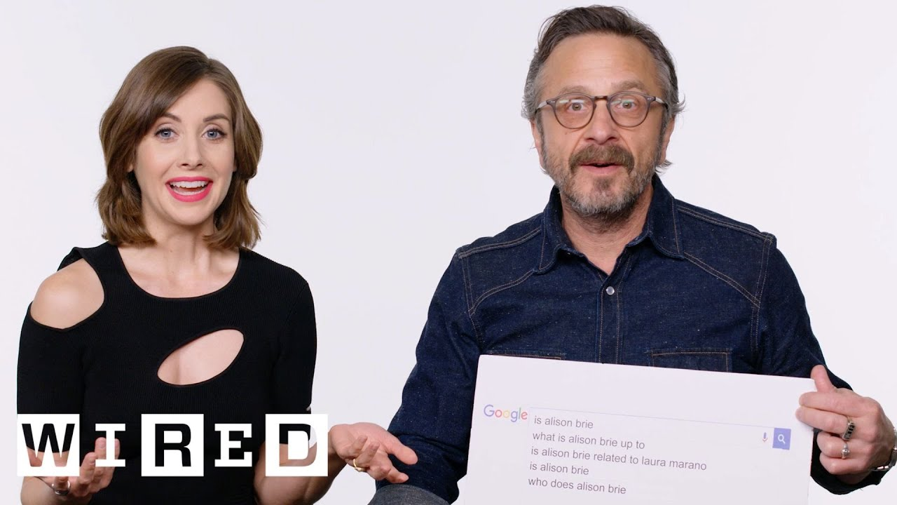 Marc Maron & Alison Brie Answer the Web's Most Searched Questions | WIRED