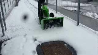Muta Maestral 4/3 - z priključkom snežne freze 80 cm