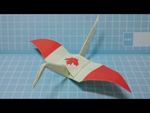 DIY Crafts How To Origami Crane Canada