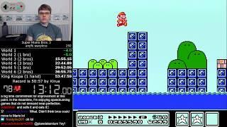 (53:02) Super Mario Bros. 3 Warpless speedrun