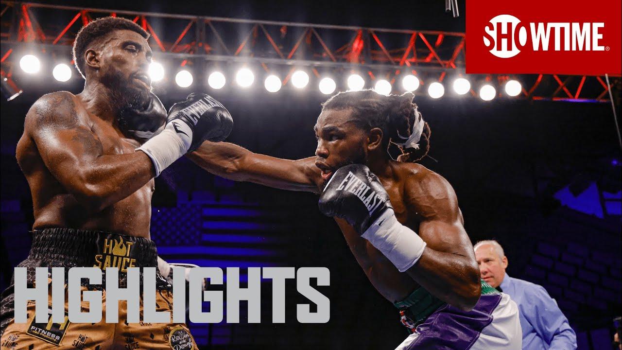 Kalvin Henderson vs. Isaiah Steen: Highlights   SHOBOX: THE NEW GENERATION