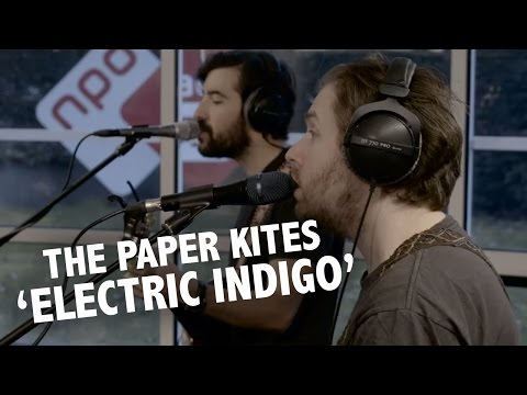 The Paper Kites - 'Electric Indigo' live @ Ekdom in de Ochtend