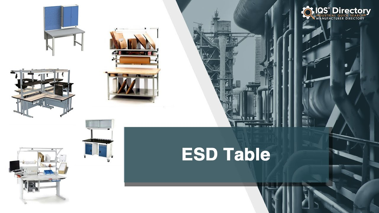 ESD Table Manufacturers and Suppliers