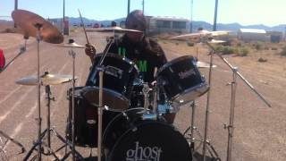 Area 51 back gate-Drummer for Broken and Buried and Bailey Lane