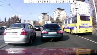 Быдло на дорогах Запорожья