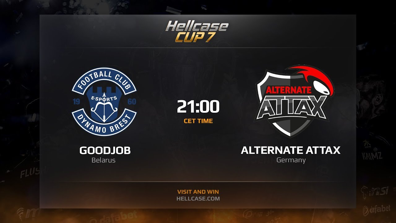 [EN] GoodJob vs ALTERNATE aTTaX, HellCase Cup Season 7
