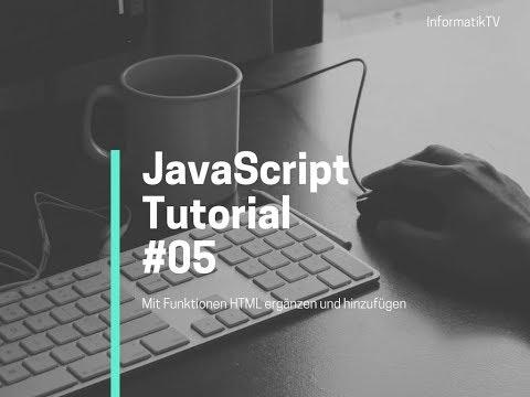 05 JavaScript Tutorial - Arrays