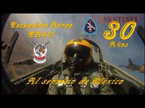 Northrop F-5 Tiger II 30 Años de Servicio en la Fuerza Aérea Mexicana en el EA401